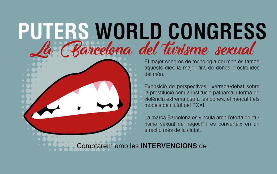 Puteros World Congress: la Barcelona del turismo sexual. Resumen de la charla y video completo