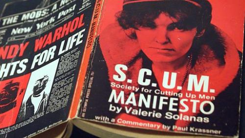 Literatura feminazi: Manifiesto SCUM, de Valérie Solanas