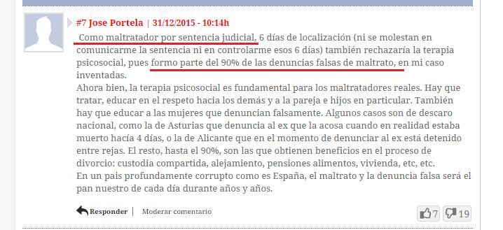 josé portela condenado por sentencia judicial víctima de denuncia falsa