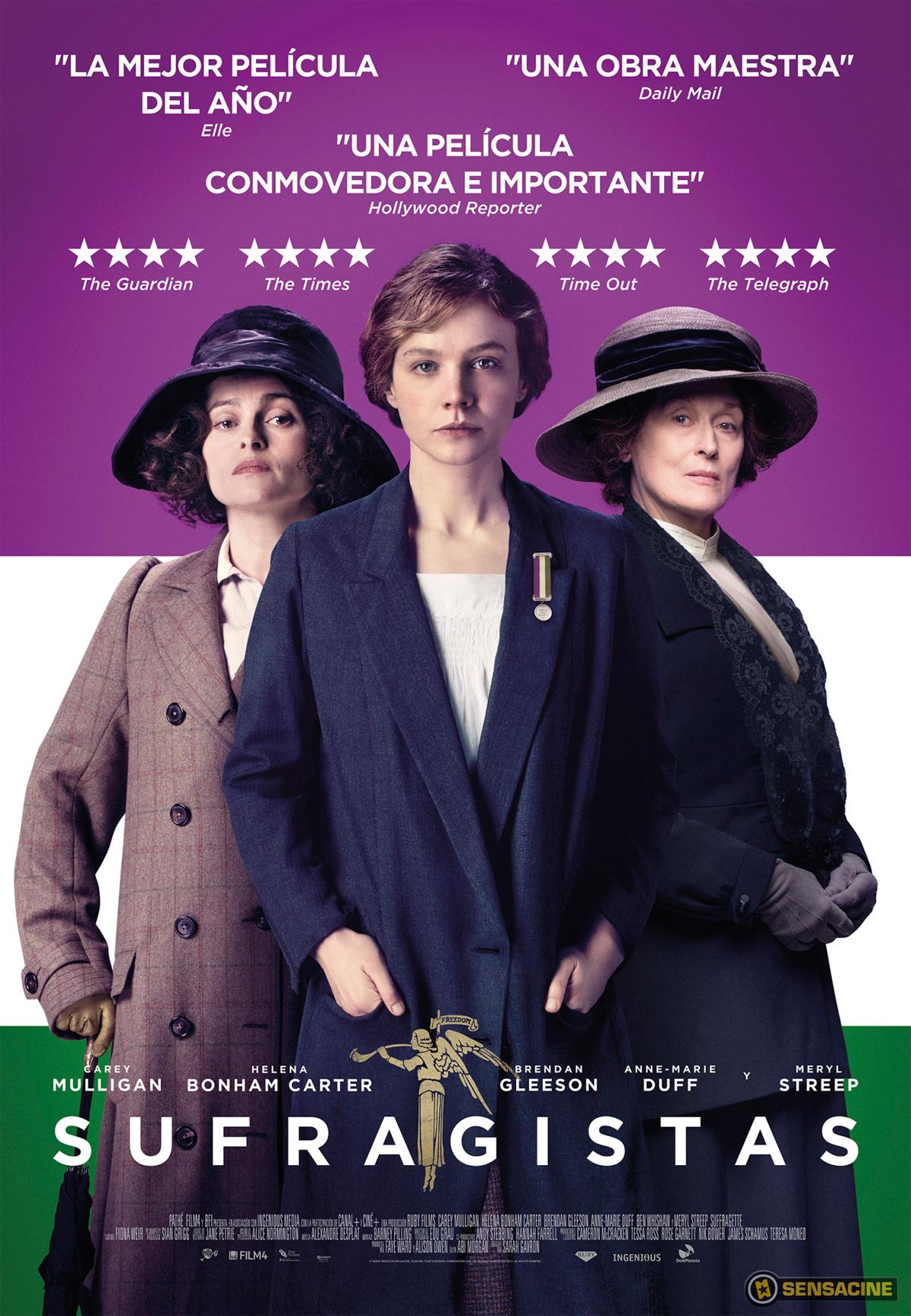 Cine Feminazi: Sufragistas, la película (reseña)