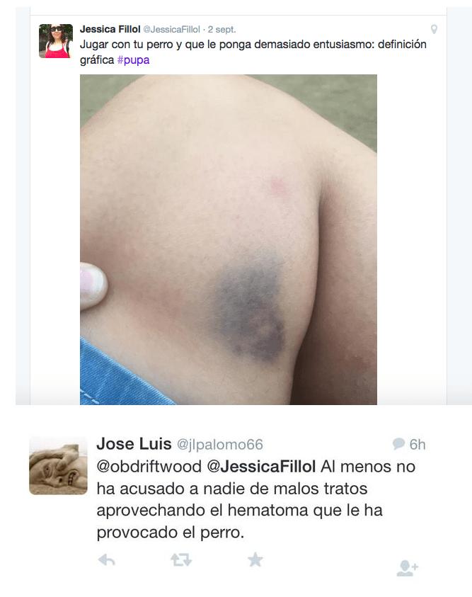 José Luis Sariego, abogado de GenMad, trolleando desde su cuenta B aprovechando que el Pisuerga pasa por Valladolid...