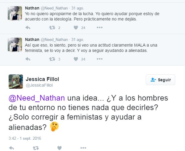 hombres aprendiendo que el feminismo no les deja decirles a las mujeres lo que hacen mal