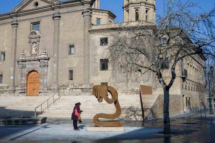 obra de Fernando Clavo Sanz en homenaje a las victimas de violencia machista