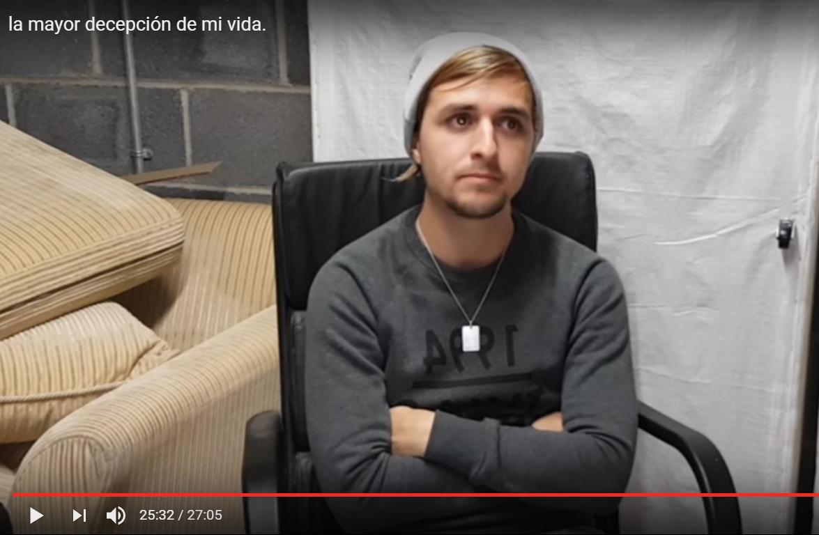 Si tu ex, ese que te destrozó, hiciera un video explicando la ruptura y lo colgara en youtube…