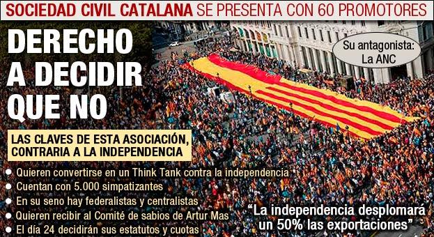 ¿Quien es el fundador de Societat Civil Catalana (SCC)?