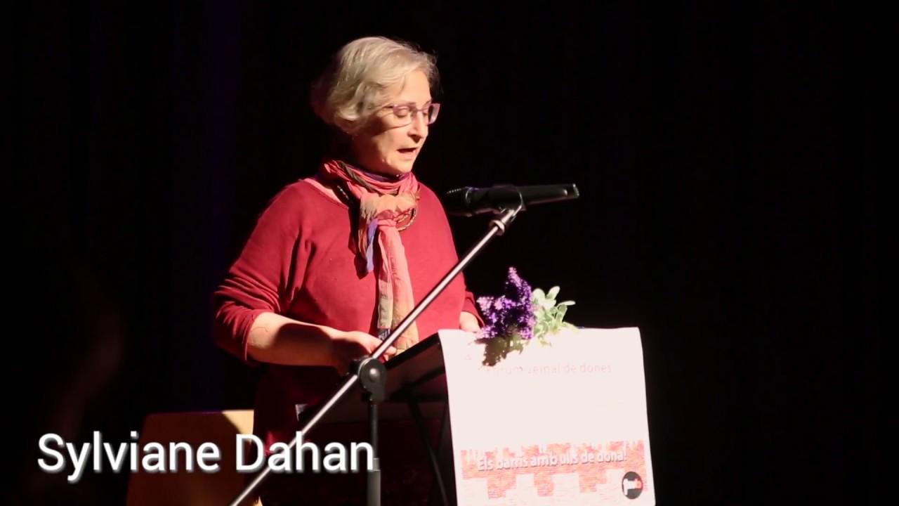 Conferencia de Sylviane Dahan sobre trata de mujeres con fines de explotación sexual: la postura de las asociaciones vecinales en Barcelona