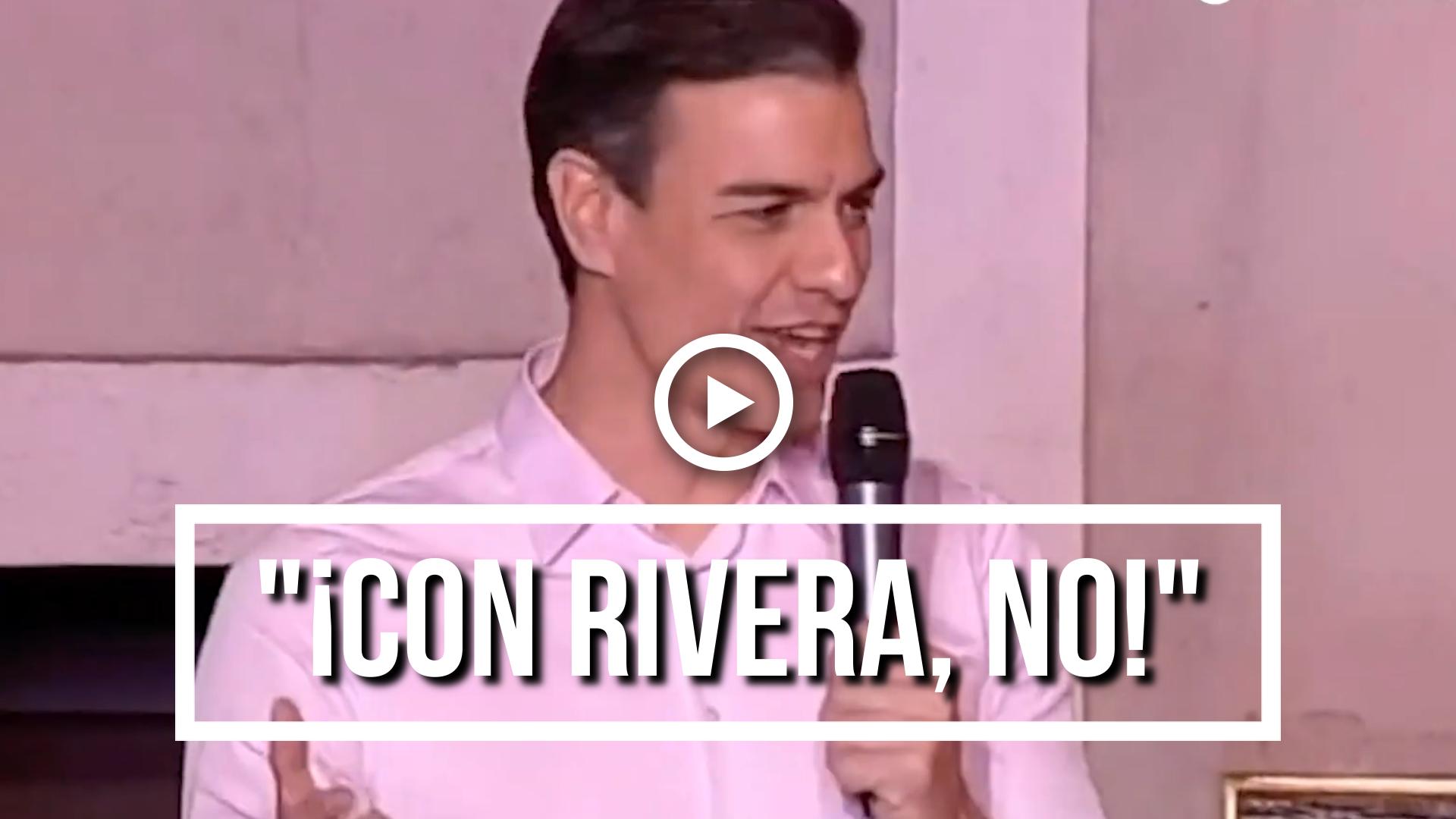 ¡Con Rivera,  no!