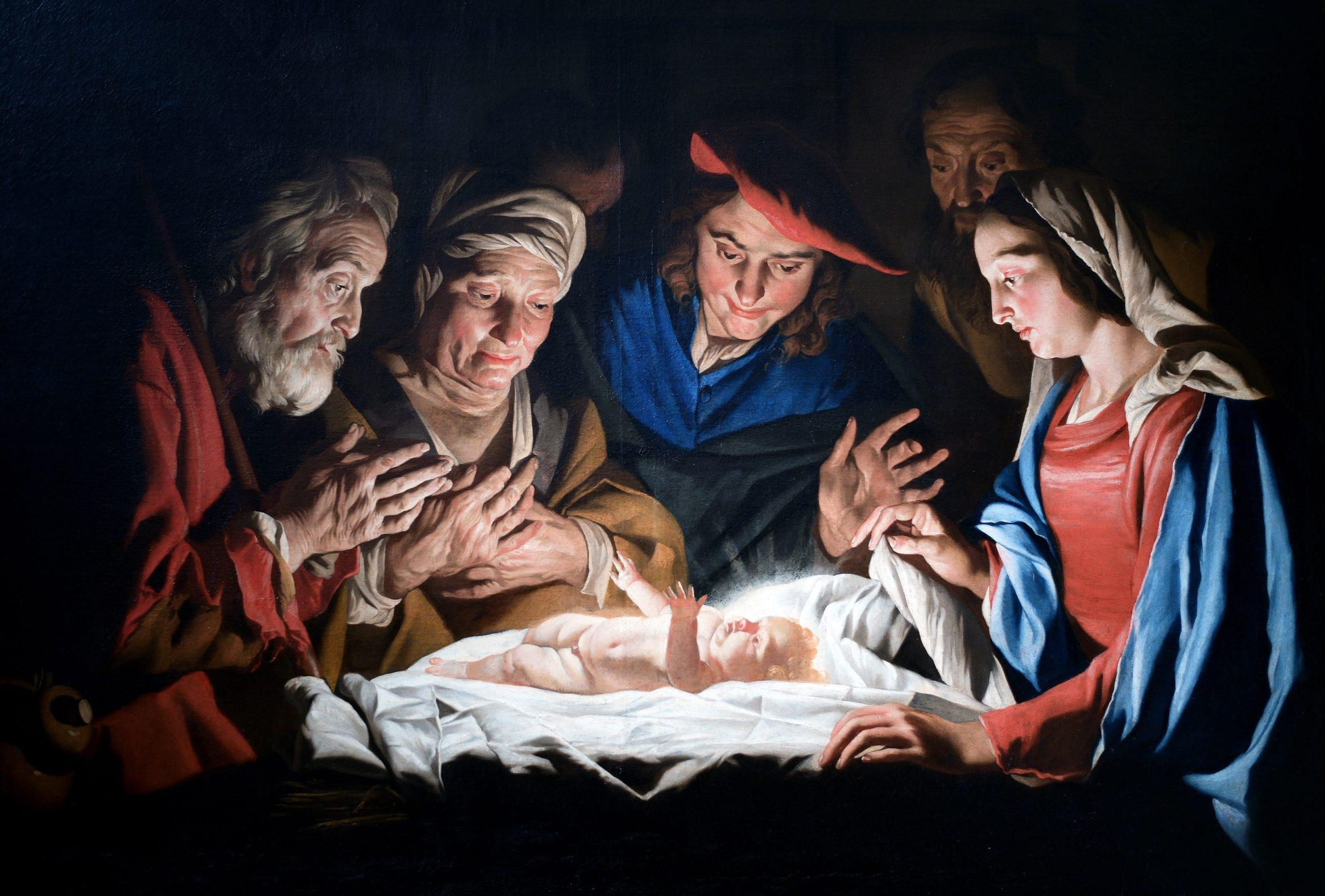 Natividad de los pastores.